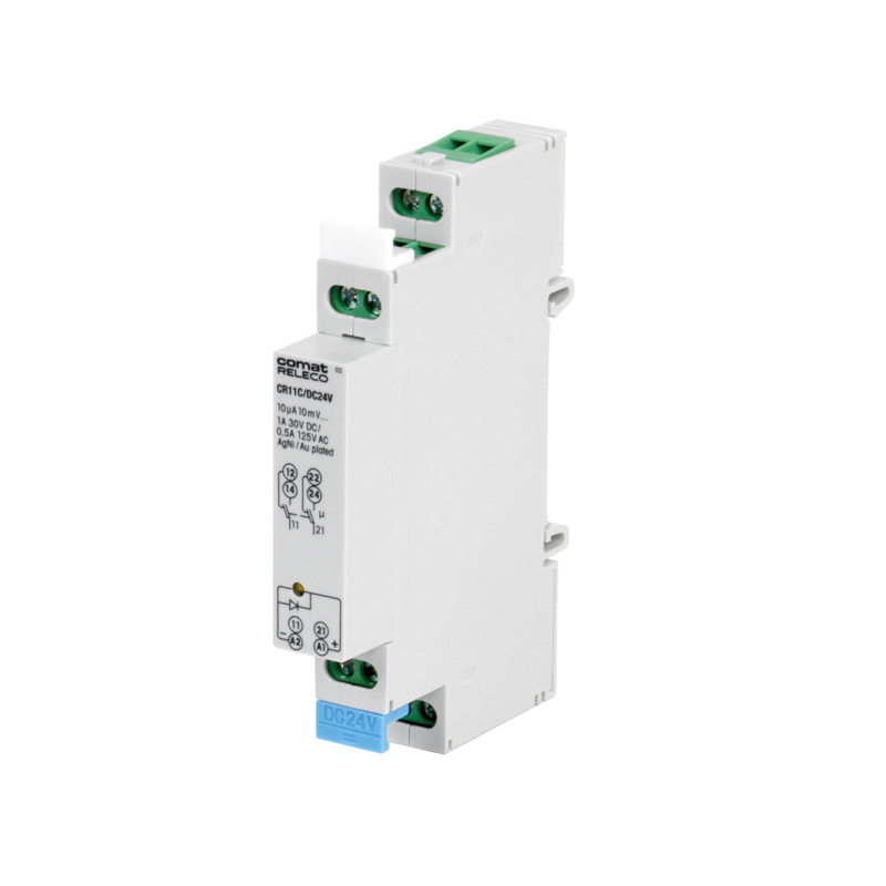 Installation relays CR & CRS
