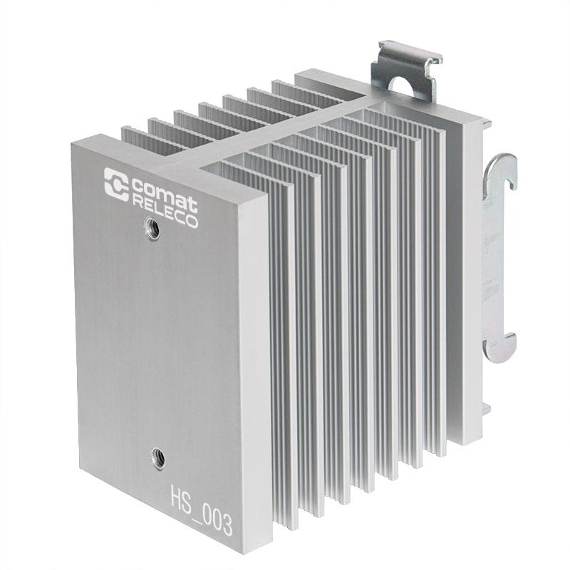 Kühlkörper für DIN-Schienen Schnappmontage