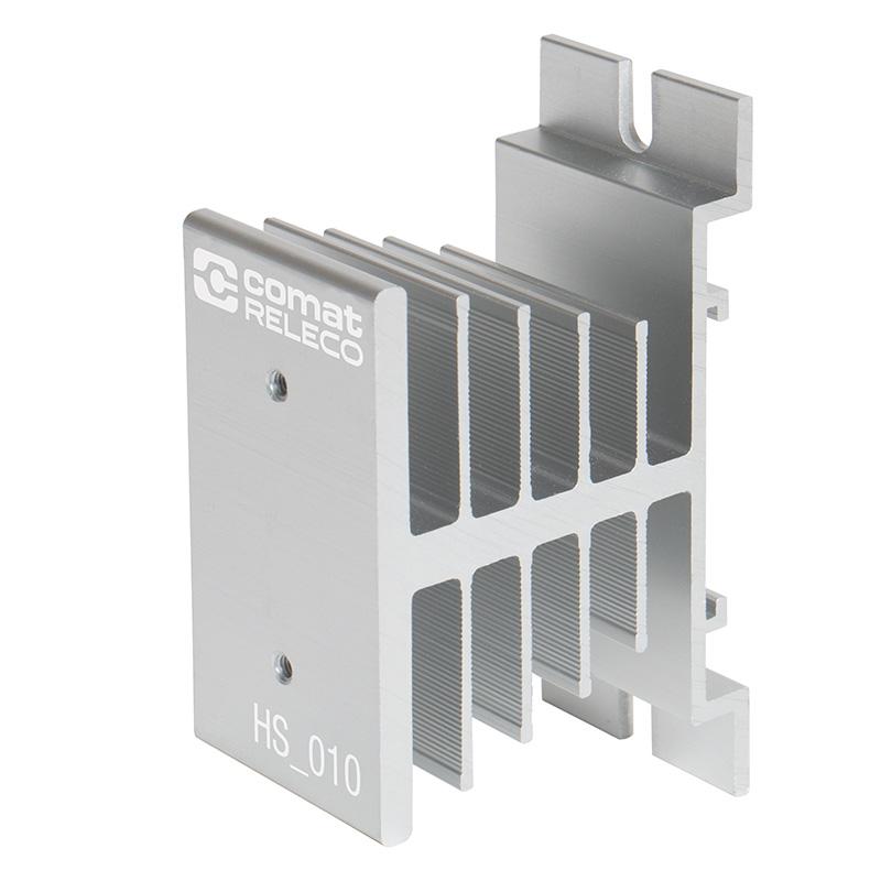Kühlkörper für DIN-Schienen Aufschubmontage