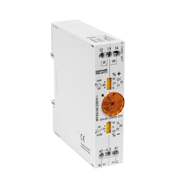 Undervoltage monitoring relays MV