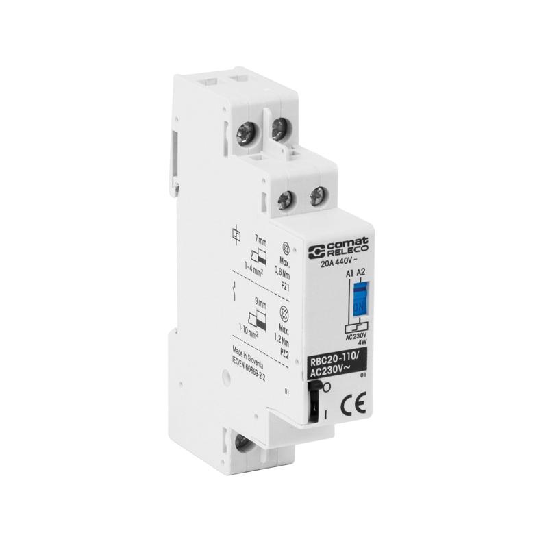 Installation contactors RBC