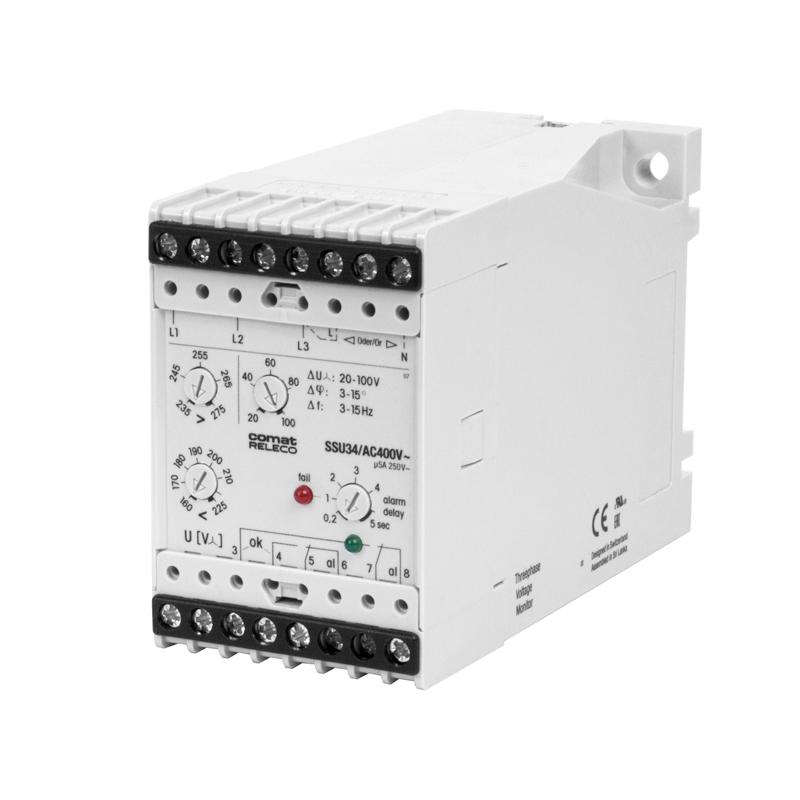 Voltage monitoring relays SSU