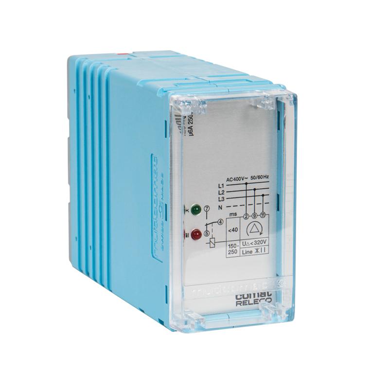Voltage monitoring relays - pluggable SSU
